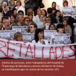 La rebelión médica pone a la Generalitat contra las cuerdas