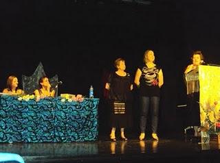 Entrega premios poesia Asociación Beatríz Cienfuegos.