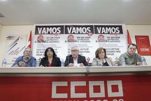 Toxo y Méndez llaman a movilizarse el 3 de abril de manera pacífica para que la violencia de cuatro no empañe el clamor social