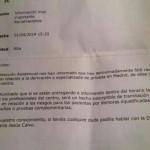 LA CONSEJERÍA DE SANIDAD AMENAZA CON ABRIR EXPEDIENTE DISCIPLINARIO POR INFORMAR DE CAMPAÑA #100X100 PÚBLICA EN HORARIO LABORAL