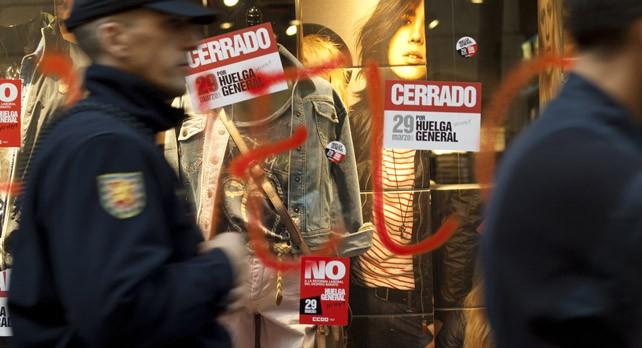 Los sindicatos ponen rostro a la ofensiva penal contra la huelga