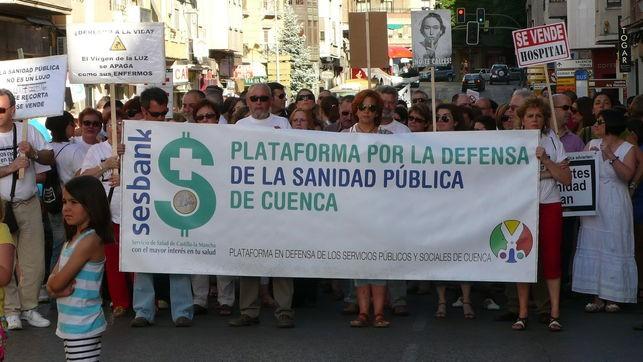 Represalias en la Plataforma en Defensa de la Sanidad Pública de Cuenca