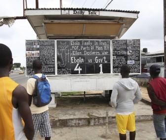 Un ébola en agosto