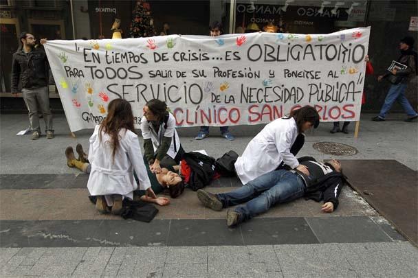 El PP pedirá a sus autonomías que impidan las protestas de funcionarios aplicando el Estatuto del Cargo Público