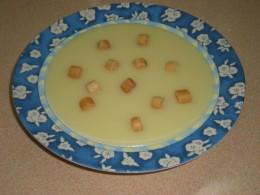 Crema de Patata y Cebolla