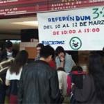 Más de 29.000 estudiantes rechazan en las urnas el 'Decreto 3+2′ de Wert