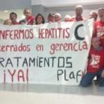 Enfermos de hepatitis C se encierran en el Hospital Severo Ochoa de Leganés
