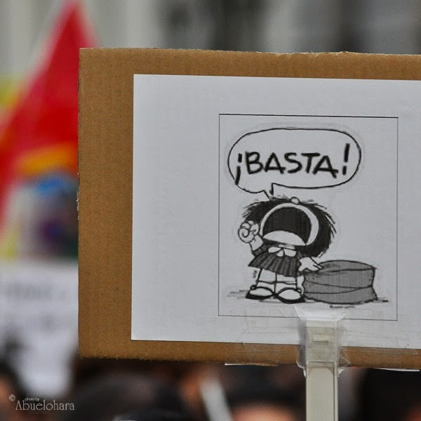 ¡BASTA!. (Informe defensa del Menor – Leganés)