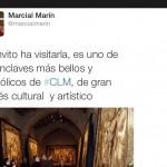 Cero en ortografía al consejero de Educación de Castilla-La Mancha, Marcial Marín