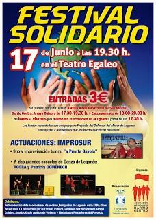 Festival Solidario para el 17 de Junio