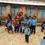 Fotografías en Nepal – La escuela