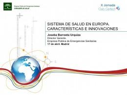 Sistemas de Salud Union Europea