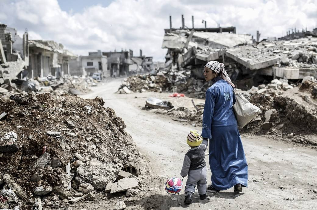 Siria: Cinco años de horror sin que la comunidad internacional se tome en serio la protección de la población civil