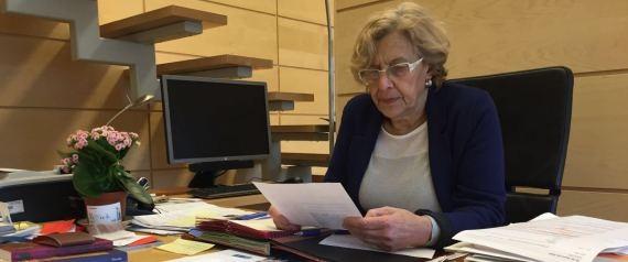 """Manuela Carmena: """"No puede, no debe haber nuevas elecciones"""""""