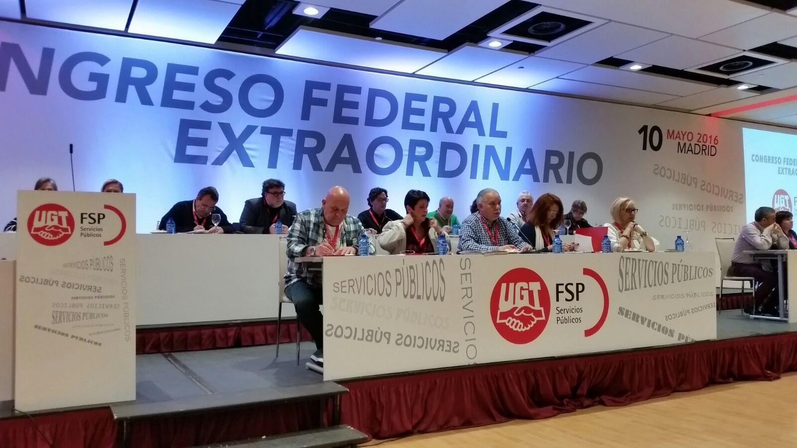Congreso de disolución de la FSP-UGT que dará paso al Congreso Constituyente de la nueva FEDERACIÓN DE EMPLEADAS/OS PÚBLICOS