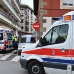 """""""Hacemos guardia dentro de la ambulancia por no disponer de espacio en los centros de salud"""""""