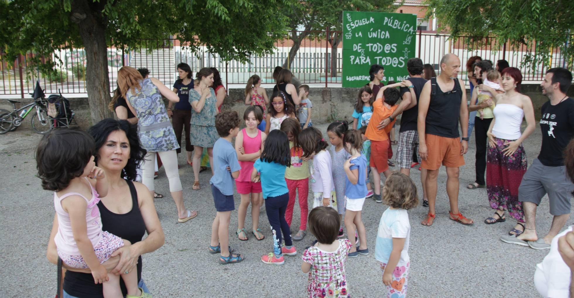 Los padres de Bustarviejo se rebelan contra Educación