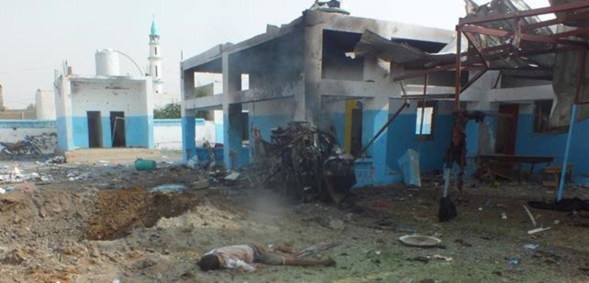 Al menos siete muertos en el bombardeo de un hospital de Médicos Sin Fronteras en Yemen