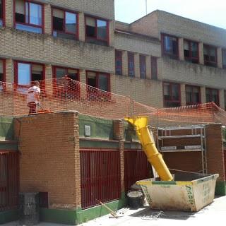 Las Tablas, al margen de la inversión municipal de 13 millones para obras de mantenimiento en los colegios públicos