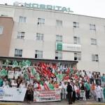 Personal de hospital y centros de salud hará paros cada miércoles para exigir más recursos
