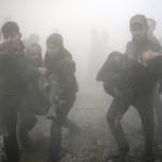 Heridos hospitales siria