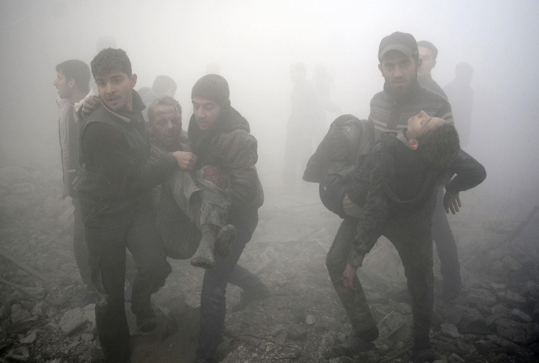 Varios heridos en ataques a hospitales en Damasco y en el norte de Siria