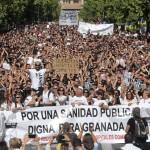 Manifestacion Granada