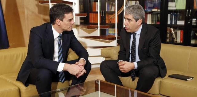 """Pedro Sánchez tenía ya el """"sí"""" de Pablo Iglesias, Homs y Junqueras para ser presidente del Gobierno"""