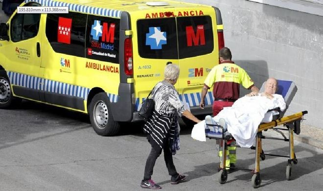 Ambulancias 'en negro'