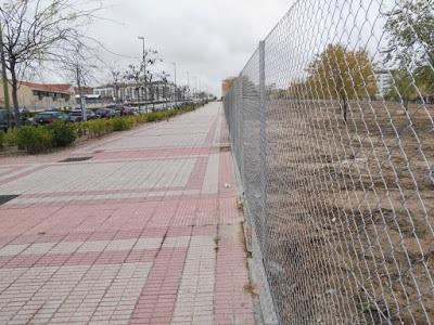 La limpieza y cercado de las parcelas municipales de Las Tablas le cuesta al Ayuntamiento 223.000 euros