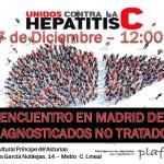 ENCUENTRO EN MADRID DE DIAGNOSTICADOS NO TRATADOS 17/Dic 12:00