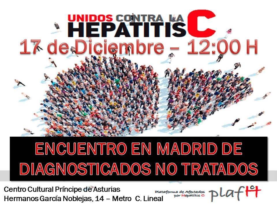 RECORDATORIO: ENCUENTRO EN MADRID DE DIAGNOSTICADOS NO TRATADOS 17/Dic 12:00