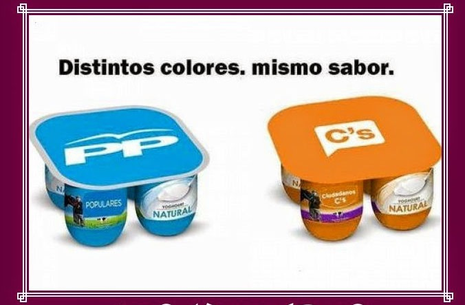 Distinto color mismo sabor