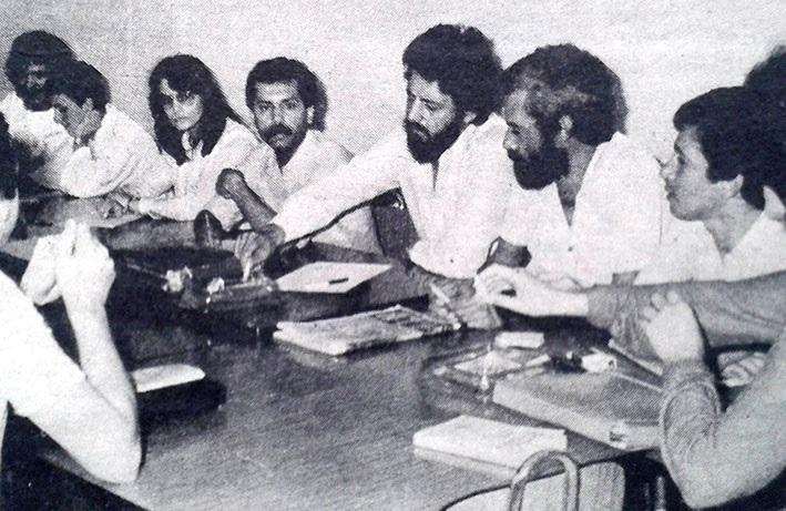22 de enero de 1982: 14 miembros del Comité de Empresa del Hospital General son despedidos
