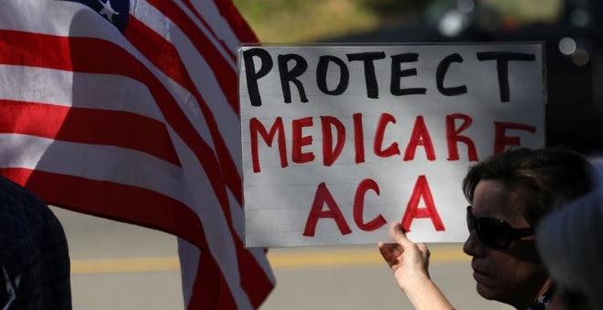 Trump dejará sin cobertura médica en EEUU a 24 millones de personas
